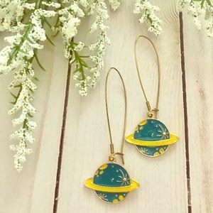 Jewelry - Planet Dangle Earrings